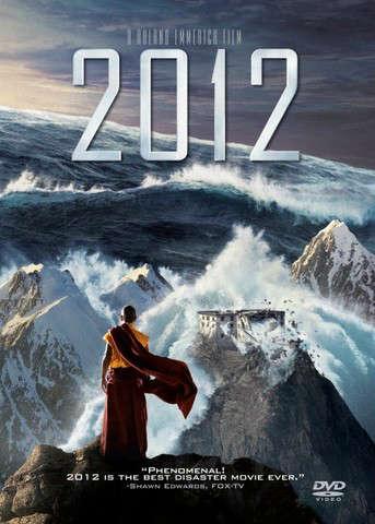 """plakat z filmu pod tytułem """"2012"""""""
