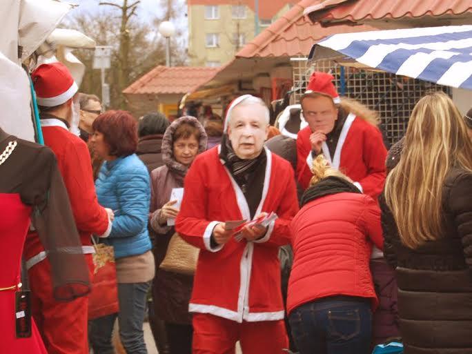 2014-12-27 zdjęcie: banda czterech mikołajów 2