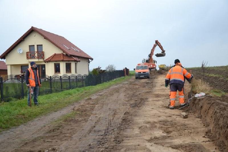 2014-12-20 zdjęcie: remont drogi kotla droga lawendowa 2