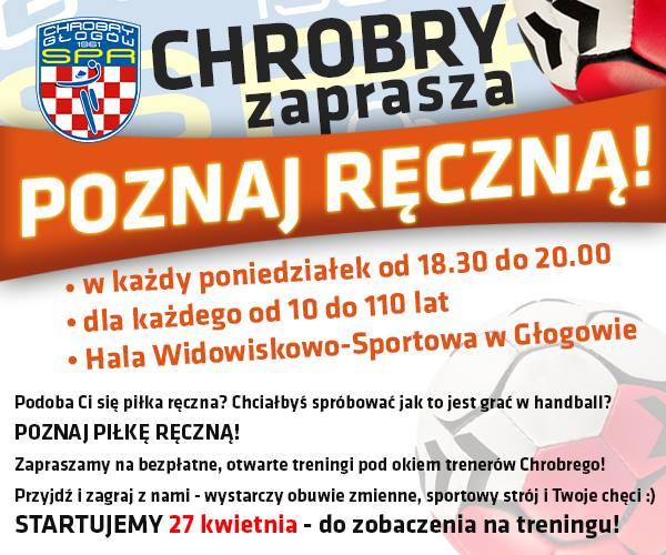 SPR Chrobry Głogów: otwarte treningi @ Hala Widowiskowo-Sportowa im. Ryszarda Matuszaka