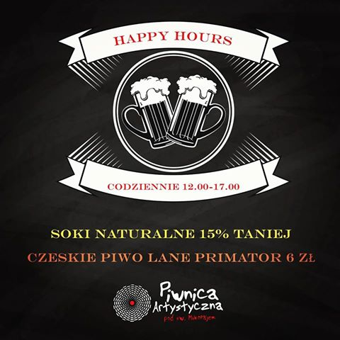 Piwnica Artystyczna: Happy Hours @ Piwnica Artystyczna pod Św. Mikołajem